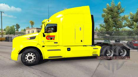 De Transport du centre de la peau pour le camion pour American Truck Simulator