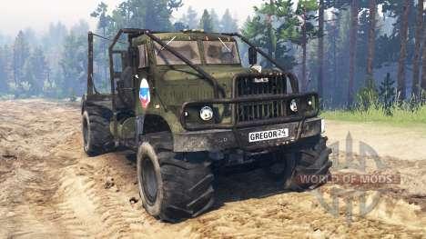 Kraz-258 pour Spin Tires