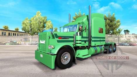 De la peau A. J. Lopez pour le camion Peterbilt  pour American Truck Simulator