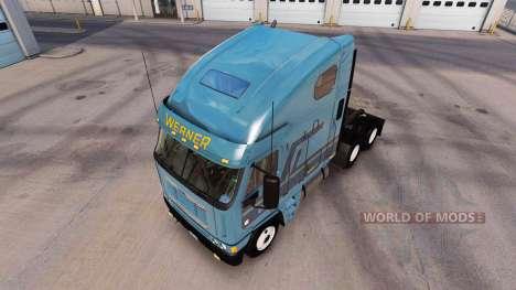 Haut Werner am LKW Freightliner Argosy für American Truck Simulator