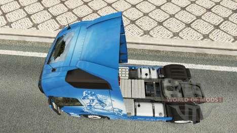 La peau de l'Année du Cheval chez Volvo trucks pour Euro Truck Simulator 2
