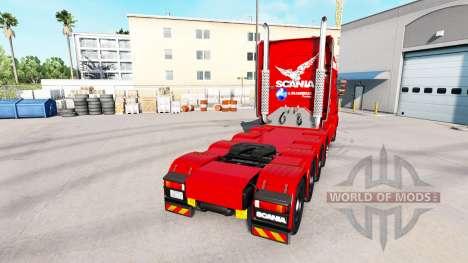 A. Krabbendam Haut für LKW Scania T für American Truck Simulator