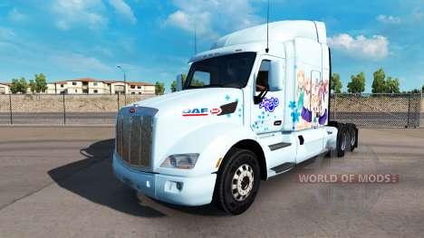Yuyushiki-skin für den truck Peterbilt für American Truck Simulator