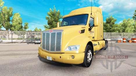 Bison Transport de la peau pour le camion Peterb pour American Truck Simulator