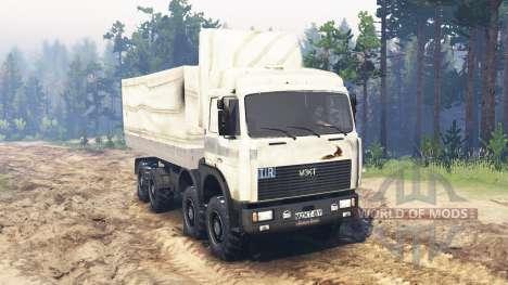 MZKT-7410 für Spin Tires