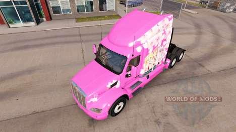 Sakura habillage du camion Peterbilt pour American Truck Simulator