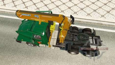 Ural 43202 v7.5 für Euro Truck Simulator 2
