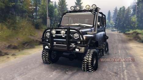 UAZ-315195 hunter pour Spin Tires