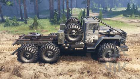 Ural-4320-10 Toungouses pour Spin Tires