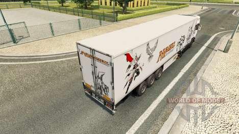 La magie de la peau pour Scania camion pour Euro Truck Simulator 2