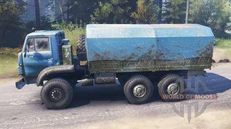 Ural-4322А v2.0 für Spin Tires