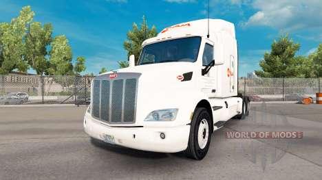 Alsua skin für den truck Peterbilt für American Truck Simulator