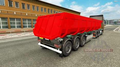 Ein semi-truck für Euro Truck Simulator 2