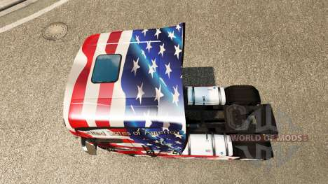 Haut USA auf Zugmaschine Scania R700 für Euro Truck Simulator 2