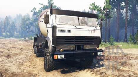 KamAZ-4311 pour Spin Tires