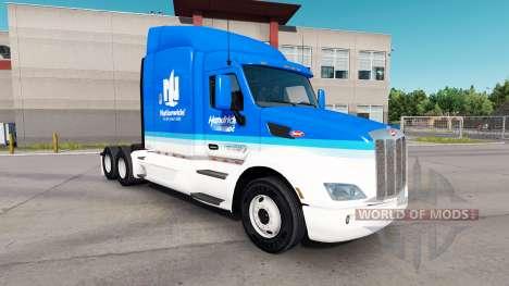Bundesweit skin für den truck Peterbilt für American Truck Simulator