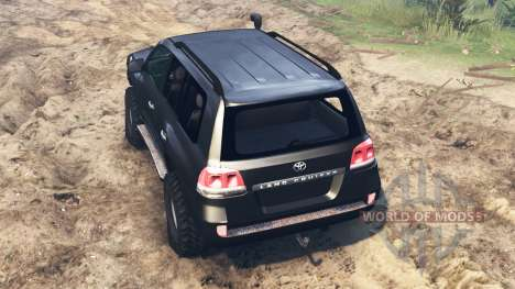 Toyota Land Cruiser 200 pour Spin Tires