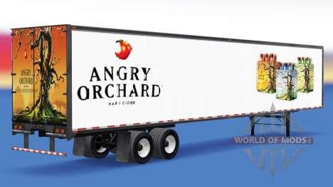 Trailer Zu Angry Orchard für American Truck Simulator