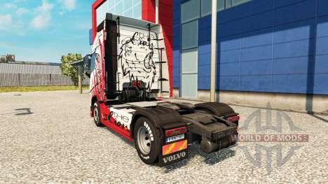 Haut Lion für Volvo-LKW für Euro Truck Simulator 2