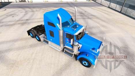 La peau sur Carlile Kenworth W900 tracteur pour American Truck Simulator