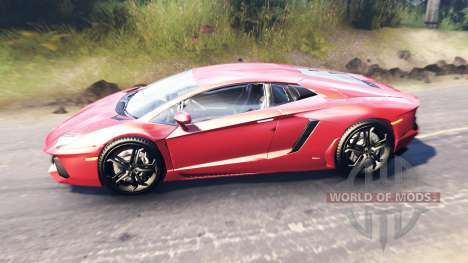 Lamborghini Aventador für Spin Tires