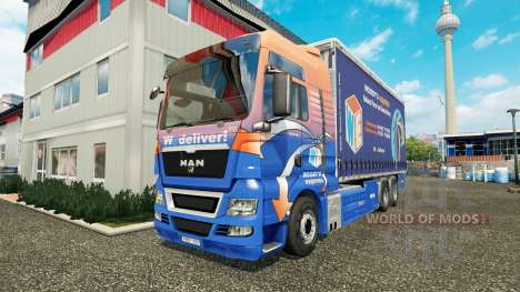 MAN TGS Woodys Express pour Euro Truck Simulator 2