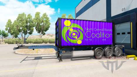 Sattelzug Nord-Zentral-Florida Koalition für American Truck Simulator