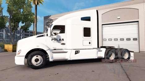 Skin Industries Polar truck Kenworth für American Truck Simulator