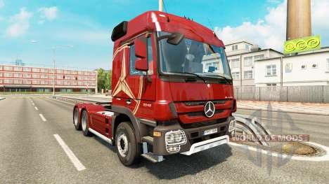 Mercedes-Benz Actros MP3 v2.0 pour Euro Truck Simulator 2