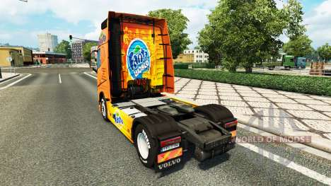 Fanta peau pour Volvo camion pour Euro Truck Simulator 2