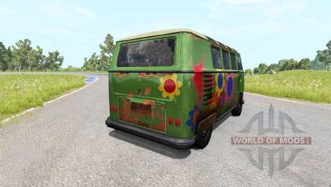 Volkswagen Transporter Bulli für BeamNG Drive