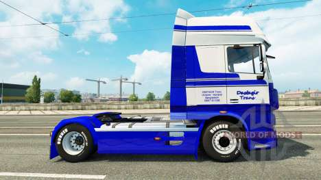 DastagirTrans skin for DAF truck für Euro Truck Simulator 2