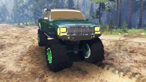 Jeep Grand Cherokee Comanche 4x4 für Spin Tires