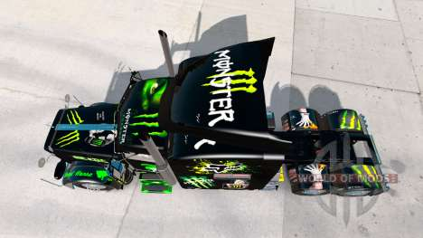 Monster Energy skin für den truck-Peterbilt 389 für American Truck Simulator