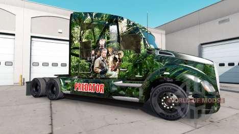 Prédateur de la peau pour le Peterbilt et Kenwor pour American Truck Simulator