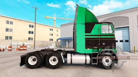 Haut Pure Vintage Zugmaschine Freightliner FLB für American Truck Simulator