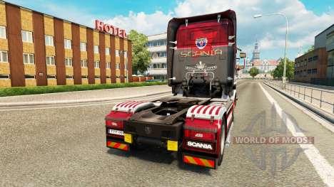 Haut King of the Road auf der Zugmaschine Scania für Euro Truck Simulator 2