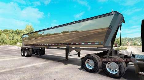 Chrome semi camion pour American Truck Simulator