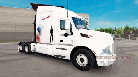 Diesel Cowboy skin für den truck Peterbilt für American Truck Simulator