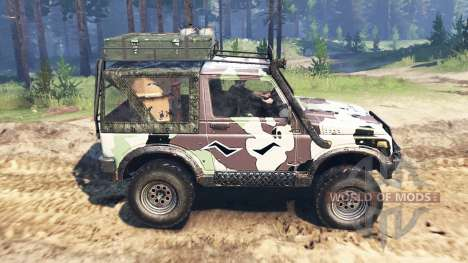 Offroader Firewall pour Spin Tires
