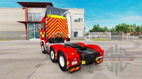 De la peau pour un Incendie de Camion tracteur S pour American Truck Simulator