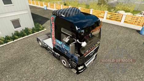 Haut Need For Speed Carbon für Traktor MAN für Euro Truck Simulator 2