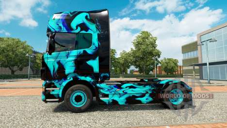 La peau de Fumée Verte pour Scania camion pour Euro Truck Simulator 2