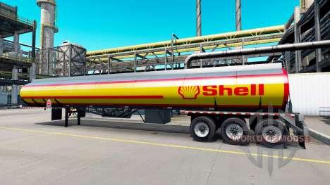 Eine Sammlung von skins für den Auflieger tanks für American Truck Simulator