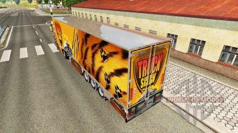 Tiger skin für den truck-Scania R700 für Euro Truck Simulator 2