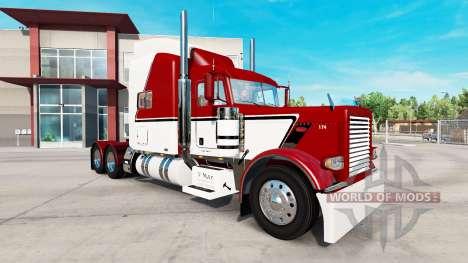 La peau V-Max pour le camion Peterbilt 389 pour American Truck Simulator
