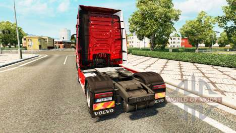 Joyeux Noël de la peau pour Volvo camion pour Euro Truck Simulator 2