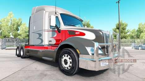 Chrom Stoßstange auf der Peterbilt 579 für American Truck Simulator