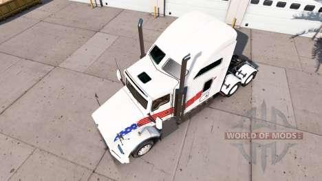 Haut USA auf Traktor Kenworth T800 für American Truck Simulator