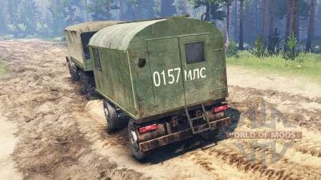ZIL-157 für Spin Tires